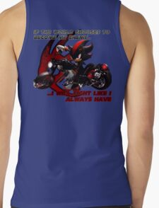 Shadow the Hedgehog - If the world chooses... Tank Top
