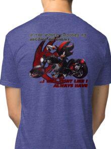 Shadow the Hedgehog - If the world chooses... Tri-blend T-Shirt