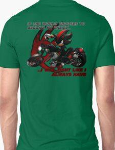 Shadow the Hedgehog - If the world chooses... Unisex T-Shirt