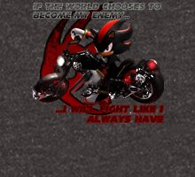 Shadow the Hedgehog - If the world chooses... Zipped Hoodie