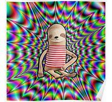 Trippy Sloth no. 2 Poster