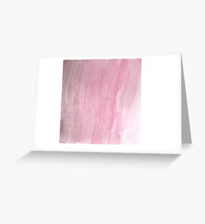 Pink Dust Greeting Card