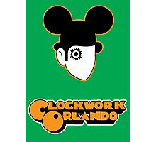 Clockwork Orlando - headshot Photographic Print