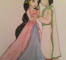 Jasmine & Aladdin by DreamChase