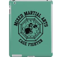 MMA Mixed Martial Arts Cage Fighter iPad Case/Skin