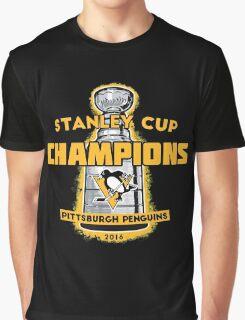 Penguins 2016 Cup Champs Graphic T-Shirt