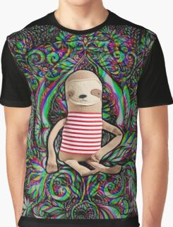 Trippy Sloth no. 3 Graphic T-Shirt
