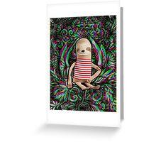 Trippy Sloth no. 3 Greeting Card