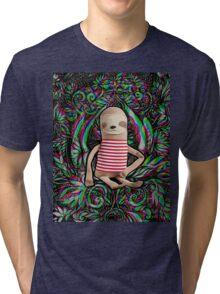 Trippy Sloth no. 3 Tri-blend T-Shirt