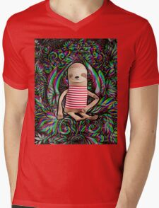 Trippy Sloth no. 3 Mens V-Neck T-Shirt