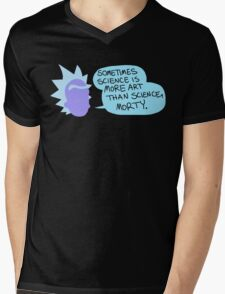 Sometimes Science is More Art Than Science Mens V-Neck T-Shirt
