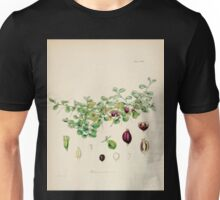 The botany of the Antarctic voyage of H M  discovery ships Erebus and Terror in the Years 1839 1843 Joseph Dalton Hooker V1 022 Unisex T-Shirt