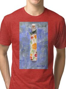 Flowers in a Bottle Tri-blend T-Shirt