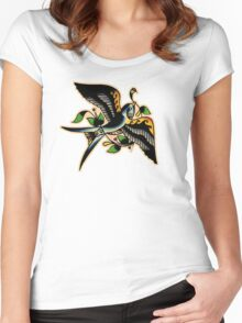 Swallow SC Women's Fitted Scoop T-Shirt