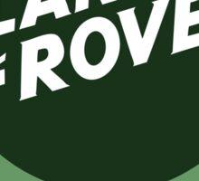 Land Rover Skull UK Sticker