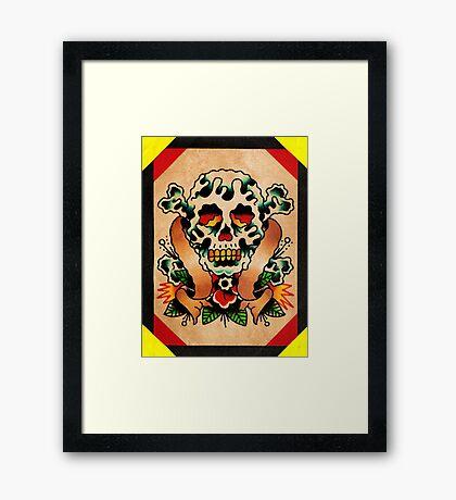 Spitshading 059 Framed Print