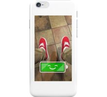 100% charged iPhone Case/Skin
