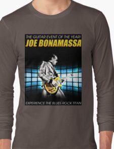 joe bonamassa experience the blues rock titan Long Sleeve T-Shirt