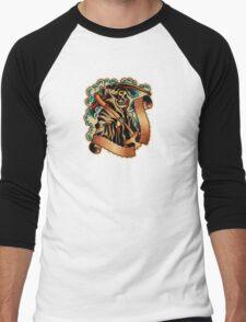 Spitshading 065 Men's Baseball ¾ T-Shirt