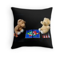 Bear's Games Pillow Throw Pillow