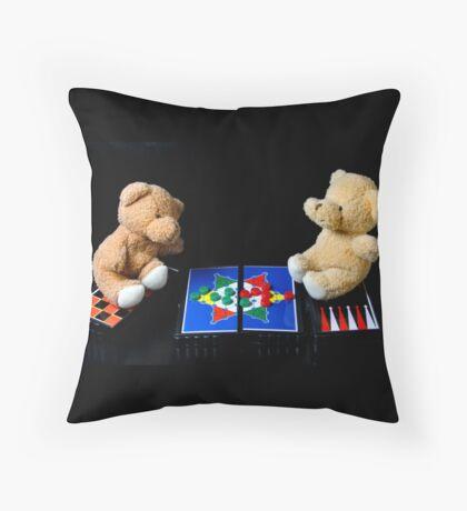 Bear's Games Pillow Throw Pillow