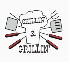Grillin' & Chillin' BBQ Fun Kids Clothes