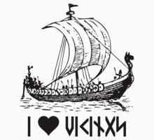Viking Ship  by WaywardMuse
