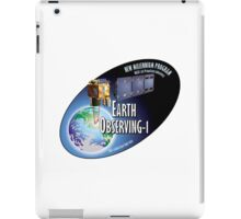 Earth Observing-1 Mission (EO-1) Program Logo iPad Case/Skin