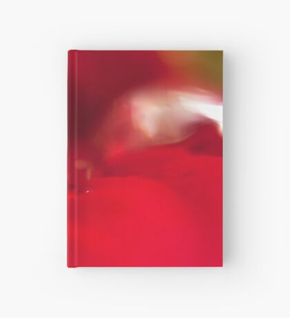 Dew Drops On Poinsettia Hardcover Journal