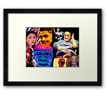 BBMFEart COLLAGE  Framed Print