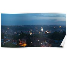 Dusk over Lviv - 2 Poster