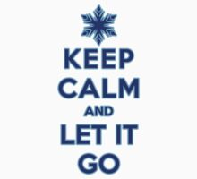 Keep Calm and Let It Go (light background) by Ellador