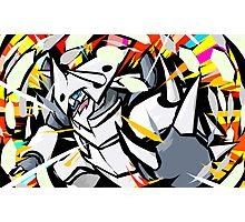 Mega Aggron | Metal Burst  Photographic Print