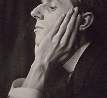 Portrait of Aubrey Beardsley by Bridgeman Art Library