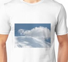 The cross of Monte Catria snow covered Unisex T-Shirt