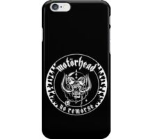 Motorhead (No Remorse) iPhone Case/Skin