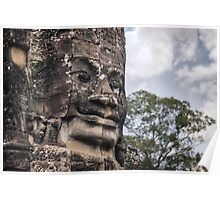 Face of The Bayon Poster