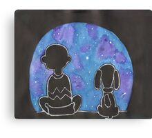 Charlie Brown Wonderment Canvas Print