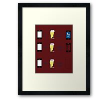 Drunk Problems  Framed Print