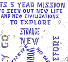 Voyages Sticker