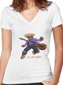 LiL Uzi Vert Women's Fitted V-Neck T-Shirt