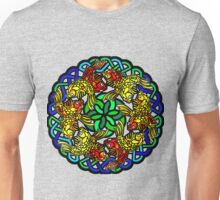 Koi Mandala - Nature Meditation - Water Jewel Unisex T-Shirt