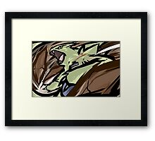 Tyranitar | Stone Edge Framed Print