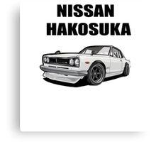 Nissan Skyline | Nissan Gtr |Nissan Hakosuka Canvas Print