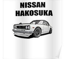 Nissan Skyline | Nissan Gtr |Nissan Hakosuka Poster