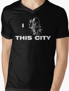 Love for the city Mens V-Neck T-Shirt