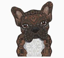 Brindle Frenchie 001 One Piece - Long Sleeve