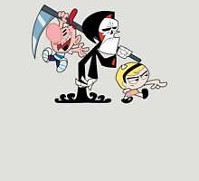 Billy, Mandy & Death Womens Fitted T-Shirt