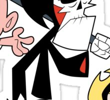 Billy, Mandy & Death Sticker