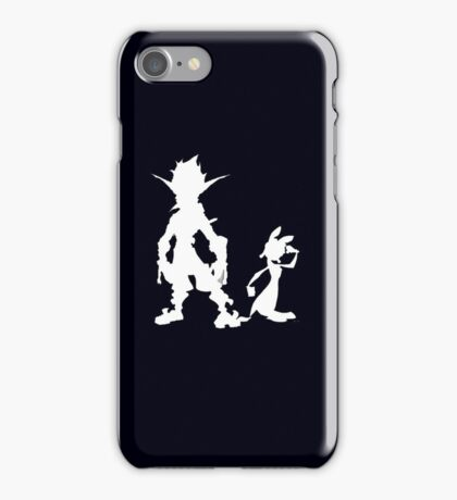Jak and Daxter: The Precursor Legacy Silhouette 2 iPhone Case/Skin
